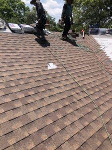 GAF Timberline Barkwood New Roof Installation