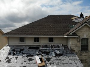 Pflugerville Roof Installation In Progress