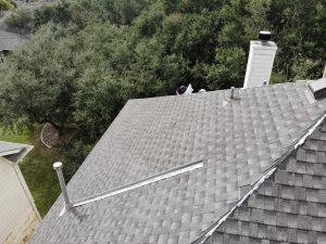 Finishing a New Roof Installation In Spicewood