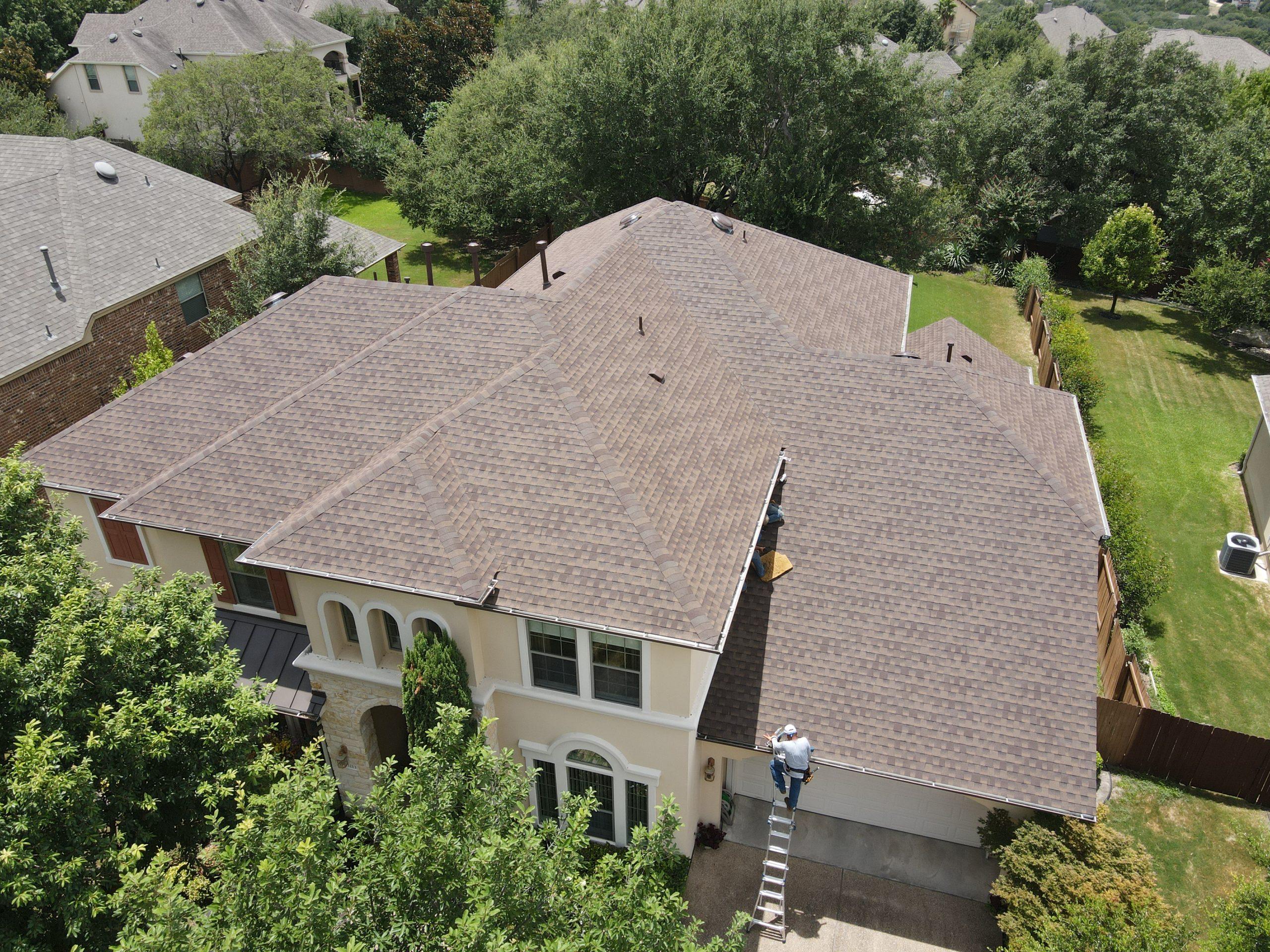 Roof Installation In Austin Using GAF