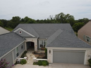 GAF Pewter Gray Roof Installation In Georgetown