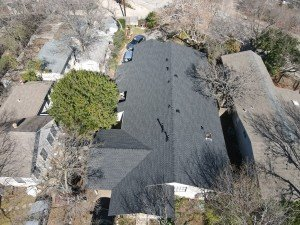 Completed Roof Installation In Leander