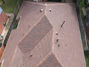 Completed Roof Installation Using GAF Timberline HDZ Hickory